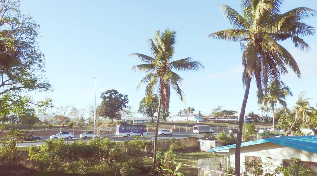 南太平洋フィジーの都市ナンディ